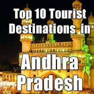 Top 10 tourist destinations in Andhra Pradesh