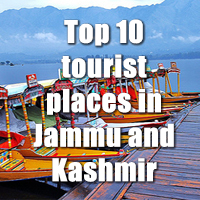 Top 10 tourist places in Jammu and Kashmir