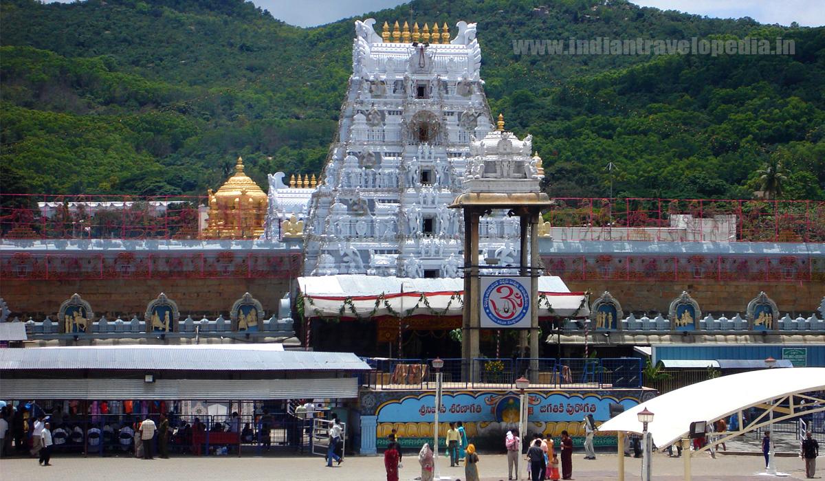 Top Ten tourist places in Andhra Pradesh_Venkateswara temple