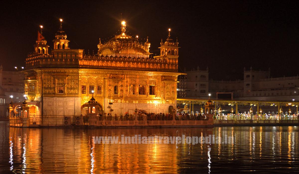 Top Ten tourist places in Punjab_Golden temple